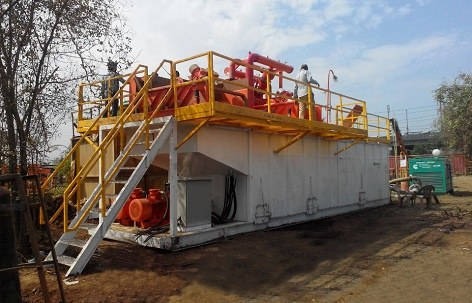 500GPM HDD Mud Recovery System in India
