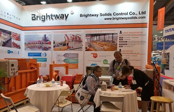 Brightway Showed in 1369-1 Booth of Houston OTC 2017