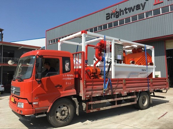 One Set BWSP-150-20 Mud Water Separator Shipped to Middle East